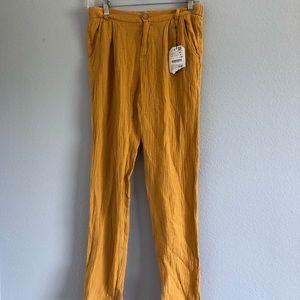 Zara Girls Mustard Pants Sz 13/14